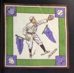 1914 B18 Blankets #4   Shoeless Joe Jackson  Front Thumbnail