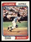 1974 Topps #570  Ralph Garr  Front Thumbnail