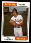 1974 Topps #638   Ken Sanders Front Thumbnail