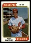 1974 Topps #642   Terry Harmon Front Thumbnail