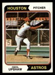 1974 Topps #579  Cecil Upshaw  Front Thumbnail