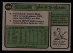 1974 Topps #586   Jack Brohamer Back Thumbnail