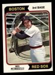 1974 Topps #609   Rico Petrocelli Front Thumbnail