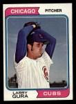 1974 Topps #616   Larry Gura Front Thumbnail