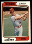 1974 Topps #622   Phil Gagliano Front Thumbnail