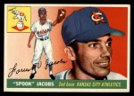 1955 Topps #61  Spook Jacobs  Front Thumbnail
