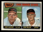 1965 Topps #49   Orioles Rookie Stars  -  Curt Blefary / John Miller Front Thumbnail