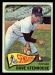 1965 Topps #304  Dave Stenhouse  Front Thumbnail