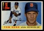 1955 Topps #116   Tom Hurd Front Thumbnail