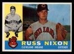 1960 Topps #36  Russ Nixon  Front Thumbnail
