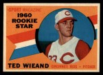 1960 Topps #146  Rookies  -  Ted Wieand Front Thumbnail