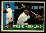 1960 Topps #172  Willie Kirkland  Front Thumbnail