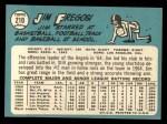 1965 Topps #210   Jim Fregosi Back Thumbnail