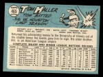 1965 Topps #465   Tom Haller Back Thumbnail