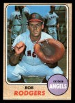 1968 Topps #433   Bob Rodgers Front Thumbnail