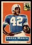 1956 Topps #60   Lenny Moore Front Thumbnail