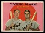 1959 Topps #34   -  Al Kaline / Charley Maxwell Pitchers Beware Front Thumbnail