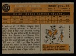 1960 Topps #171  Johnny Groth  Back Thumbnail