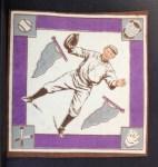 1914 B18 Blankets #32   Bill McAllister  Back Thumbnail
