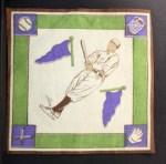 1914 B18 Blankets #1   Johnny Bassler  Back Thumbnail