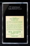 1933 Goudey #97  Joe Morrissey  Back Thumbnail