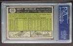1961 Topps #545   Hoyt Wilhelm Back Thumbnail