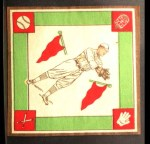 1914 B18 Blankets #65   George Burns Back Thumbnail