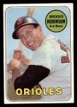 1969 Topps #550   Brooks Robinson Front Thumbnail
