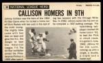 1964 Topps Giants #36   Johnny Callison  Back Thumbnail