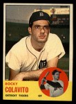 1963 Topps #240   Rocky Colavito Front Thumbnail