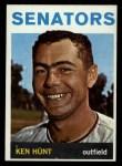 1964 Topps #294  Ken Hunt  Front Thumbnail