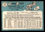 1965 Topps #528   George Altman Back Thumbnail