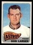1965 Topps #389  Don Larsen  Front Thumbnail