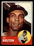 1963 Topps #437  Billy Bruton  Front Thumbnail