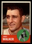 1963 Topps #413 A Jerry Walker  Front Thumbnail