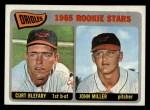 1965 Topps #49  Orioles Rookies  -  Curt Blefary / John Miller Front Thumbnail