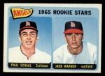 1965 Topps #517   -  Paul Schaal / Jack Warner Angels Rookies Front Thumbnail