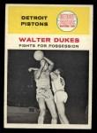1961 Fleer #50   Walter Dukes Front Thumbnail