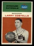 1961 Fleer #9   Larry Costello Front Thumbnail