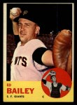 1963 Topps #368  Ed Bailey  Front Thumbnail