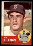 1963 Topps #384   Bob Tillman Front Thumbnail
