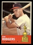 1963 Topps #280  Bob Rodgers  Front Thumbnail