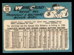 1965 Topps #425  Wayne Causey  Back Thumbnail