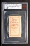 1909 T206 #148 NY Joe Doyle  Back Thumbnail