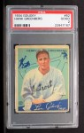 1934 Goudey #62   Hank Greenberg Front Thumbnail