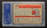 1957 Topps #277  Johnny Podres  Back Thumbnail