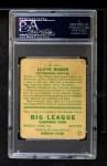 1933 Goudey #164   Lloyd Waner Back Thumbnail