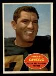 1960 Topps #56  Forrest Gregg  Front Thumbnail