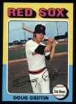 1975 Topps #454  Doug Griffin  Front Thumbnail