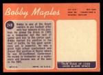 1970 Topps #248   Bobby Maples Back Thumbnail